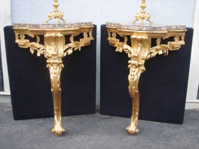 Coppia di consolle Luigi XVI | GALLERIA BOSI